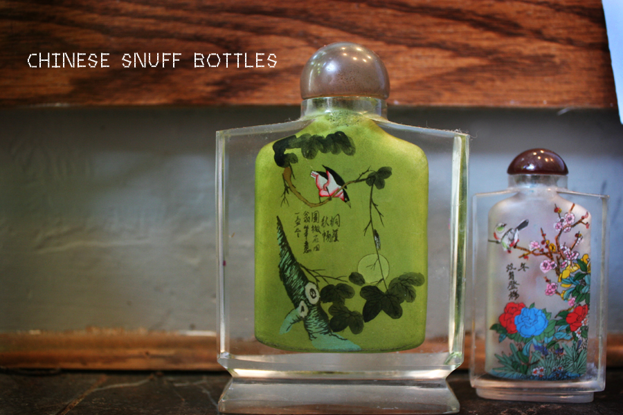 snuff bottles