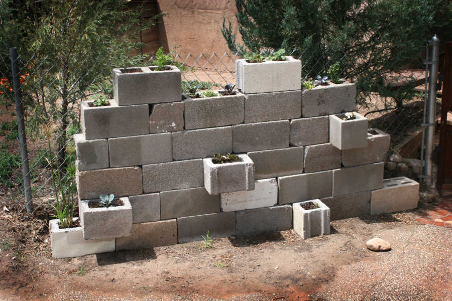 Cinder Block wall project 3
