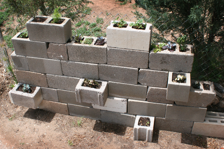 Cinder Block wall project 4
