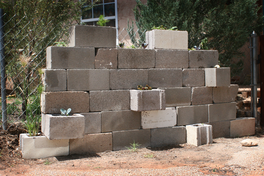 Cinder Block wall project 5