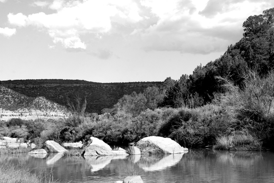 Canadian River BW