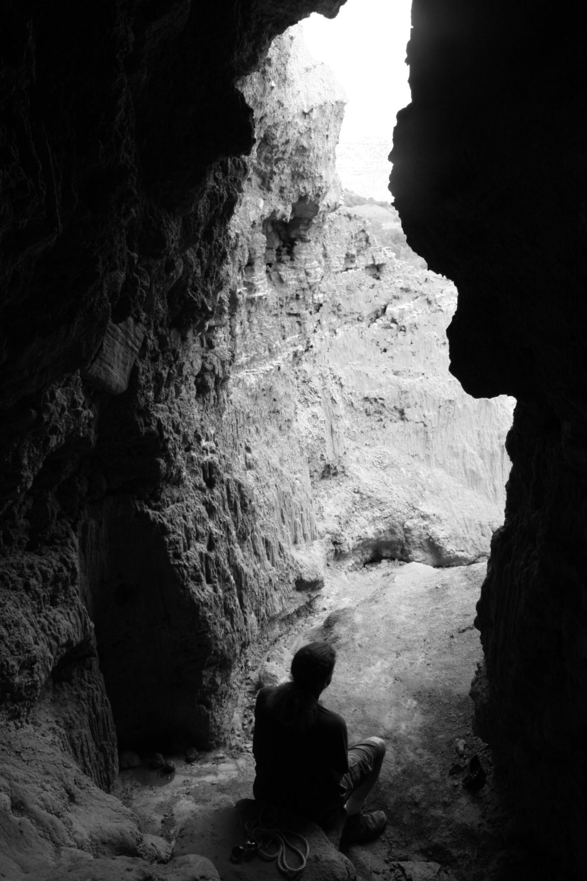 Matt in Cave