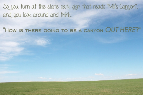 Mills Canyon Intro