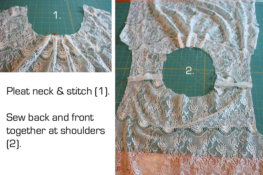 McCalls pattern 6604 tutorial 1A