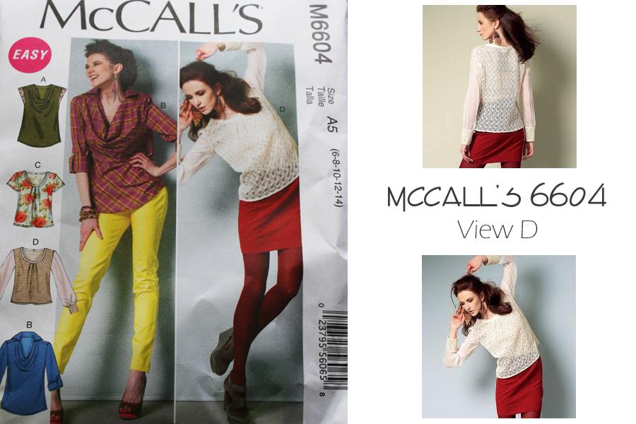 McCalls pattern 6604