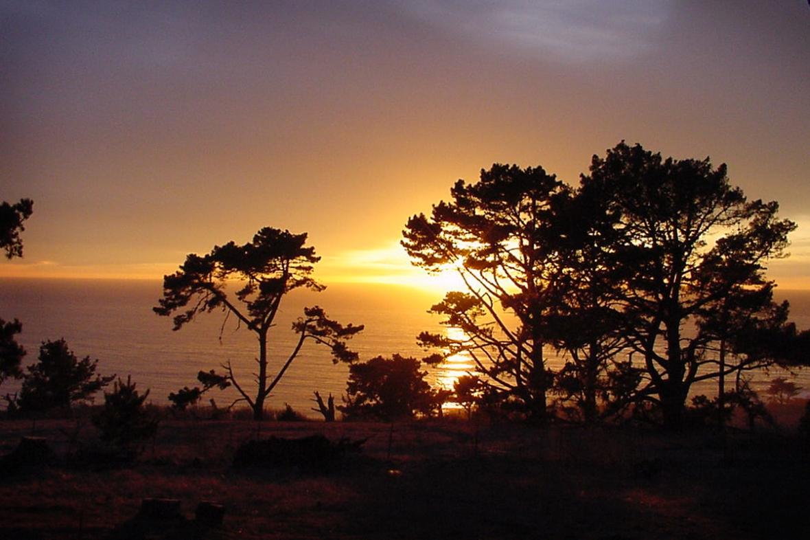 Camp Ocean pines sunset