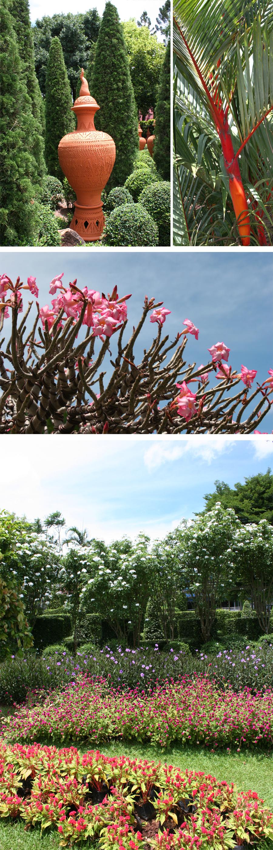Nong Nooch Flowers Gardens