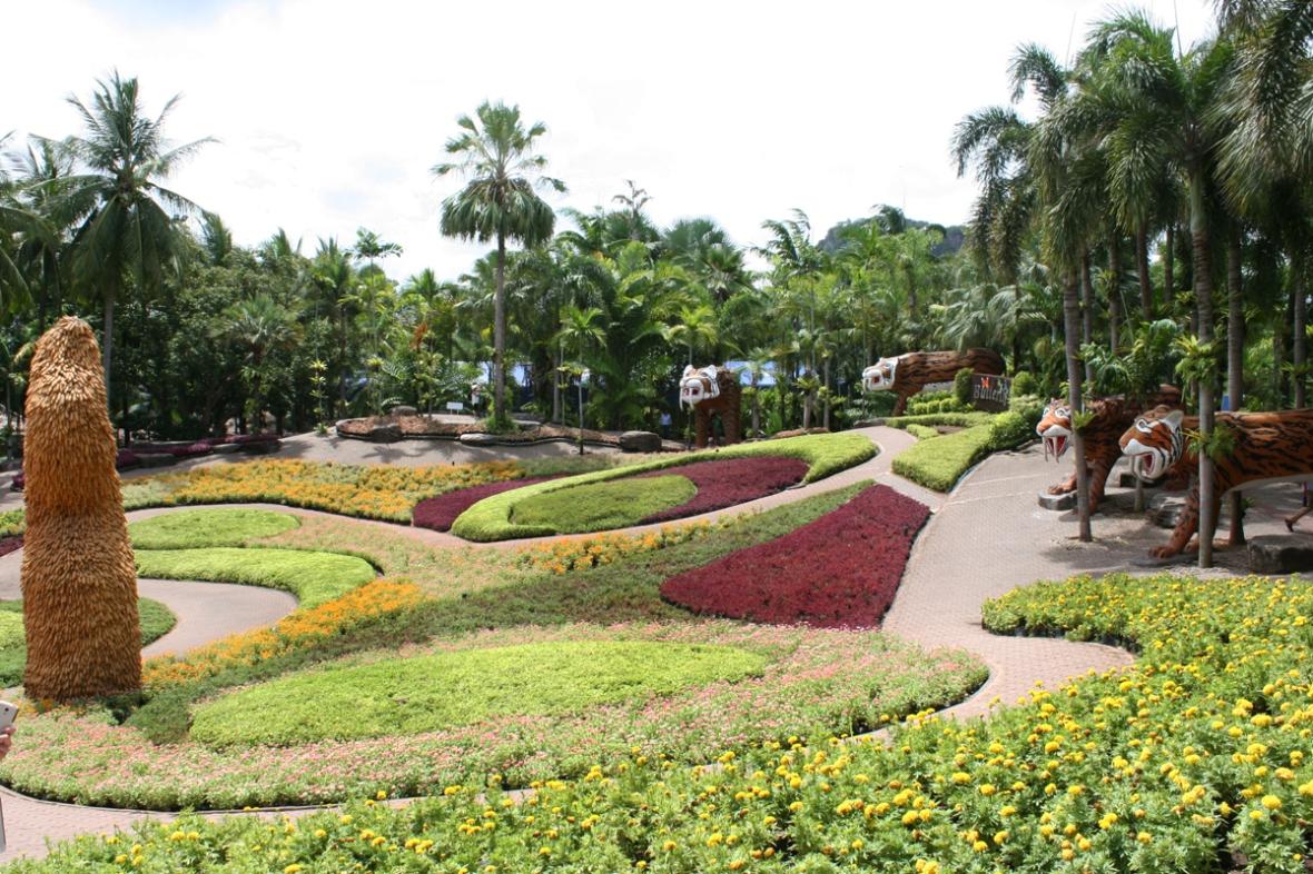 Nong Nooch Gardens Pattaya Thailand 1