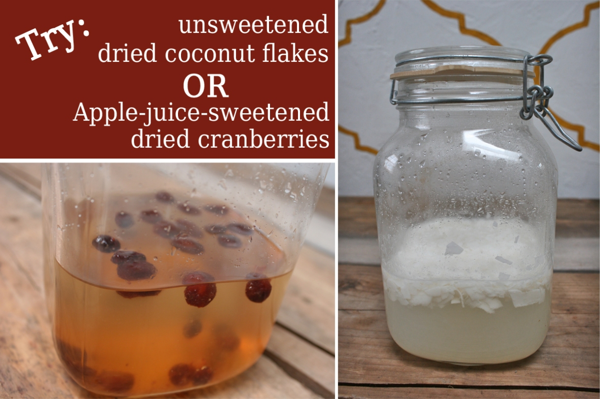 cranberries and coconut