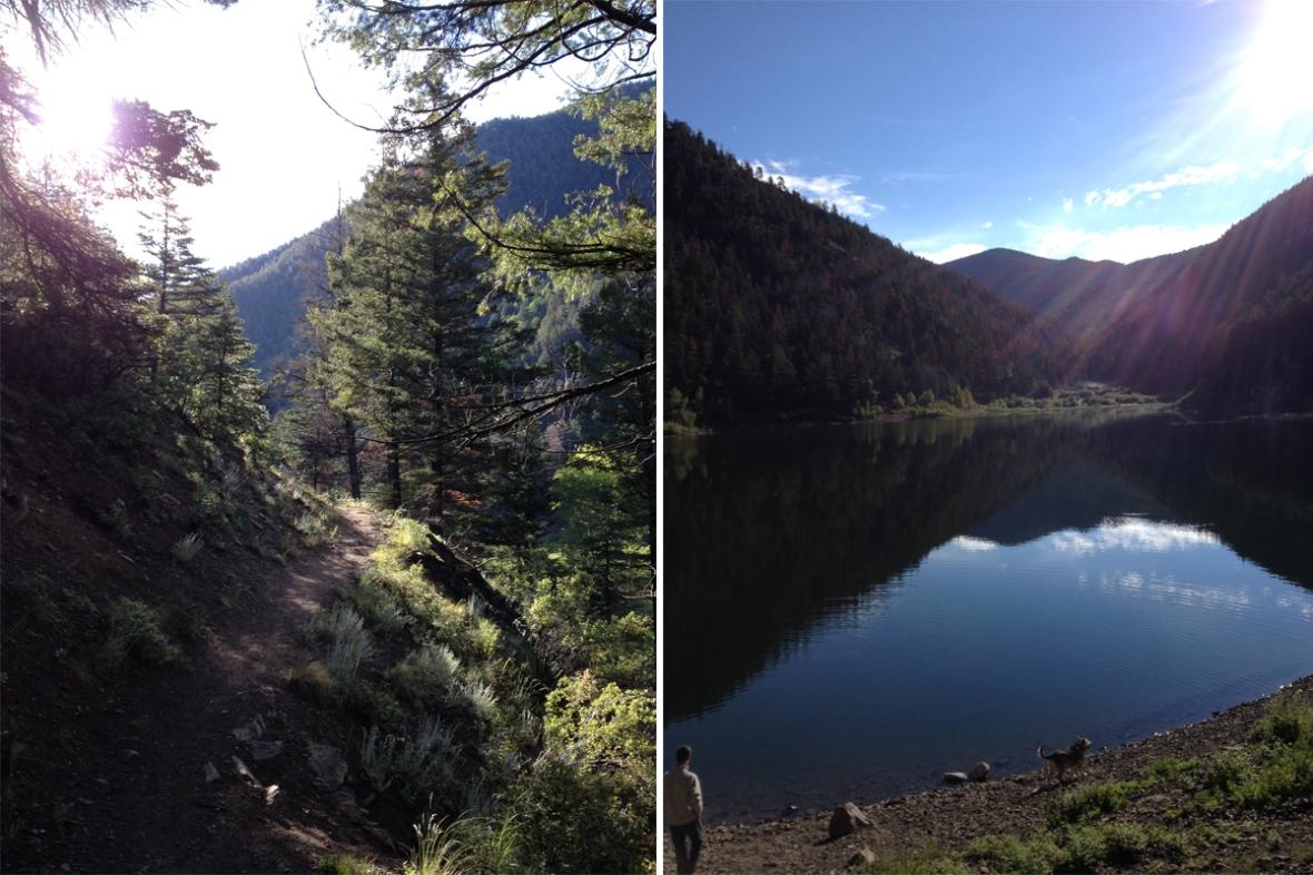 Cabresto Lake NM trail