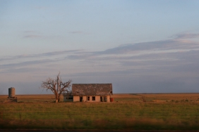 house on the plains