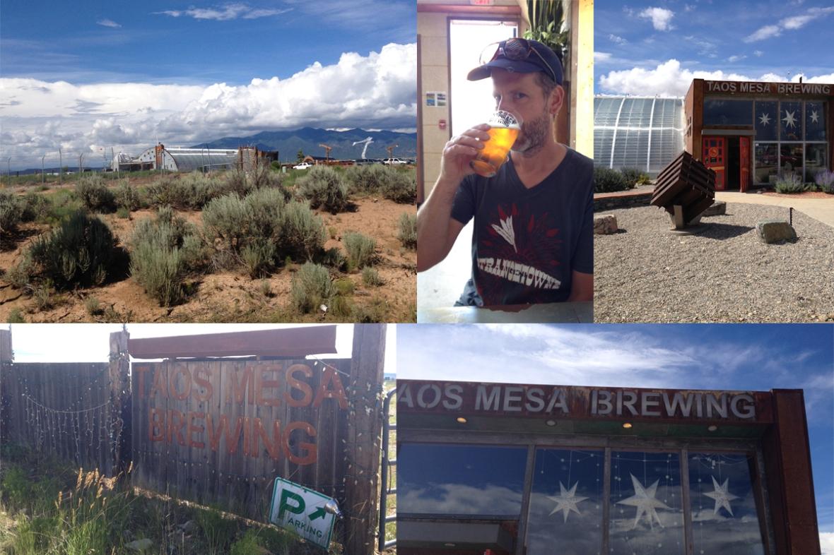 Taos Mesa Brewing Company New Mexico