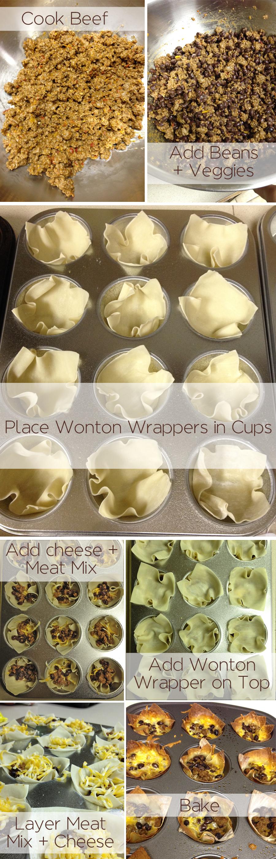 Taco Cupcakes recipe