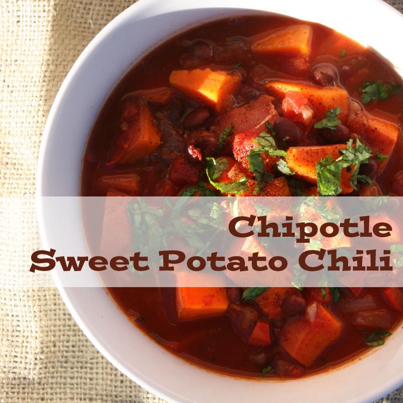 Chipotle Sweet Potato Chili