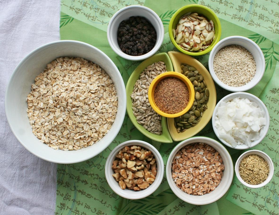 muesli ingredients