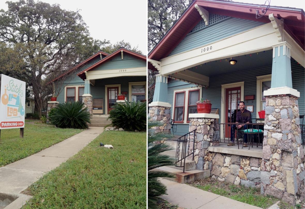 Stitch Lab Austin TX Exterior