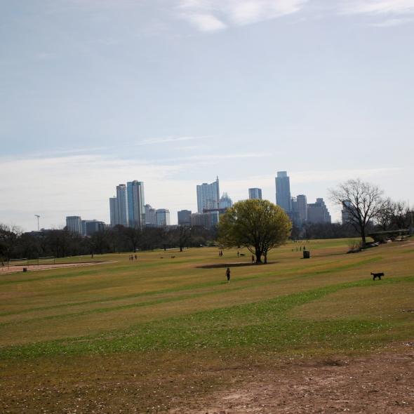 zilker park Austin square