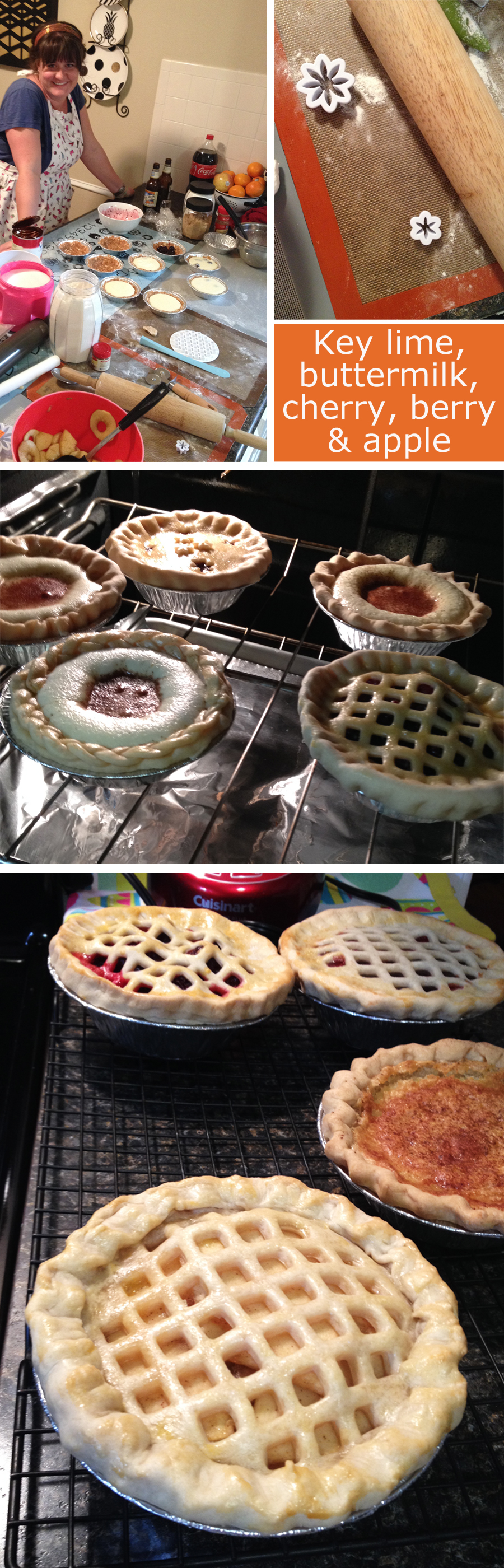home made pies