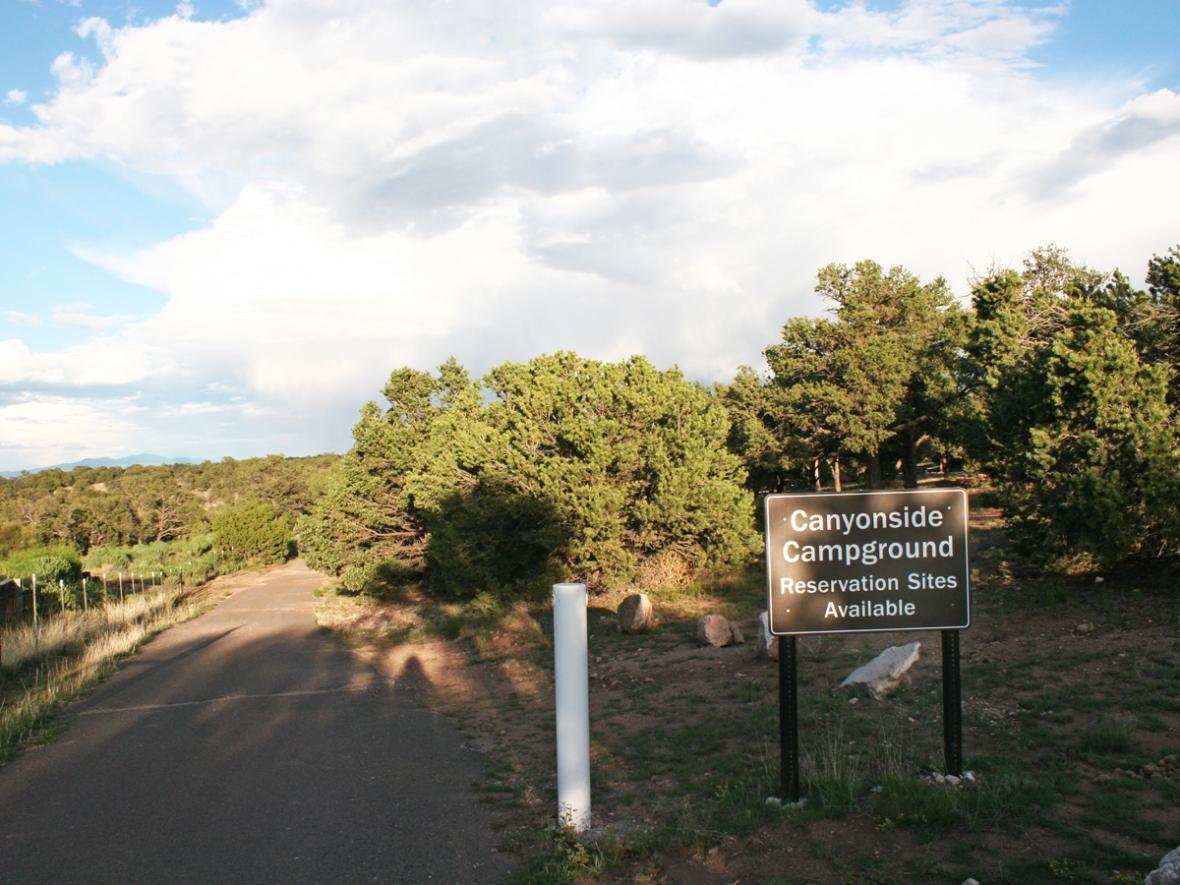 Canyon Loop Camping Bluewater Lake New Mexico