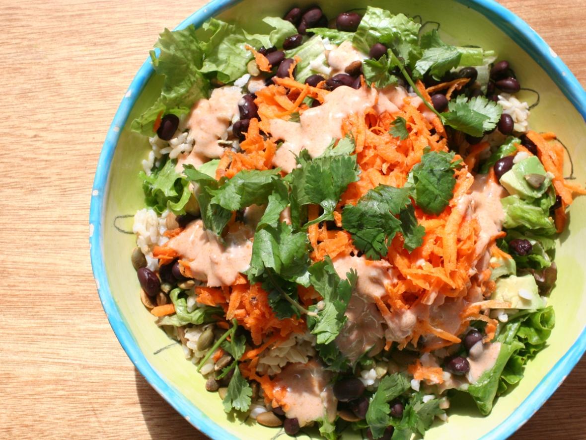 Modern taco salad recipe 2