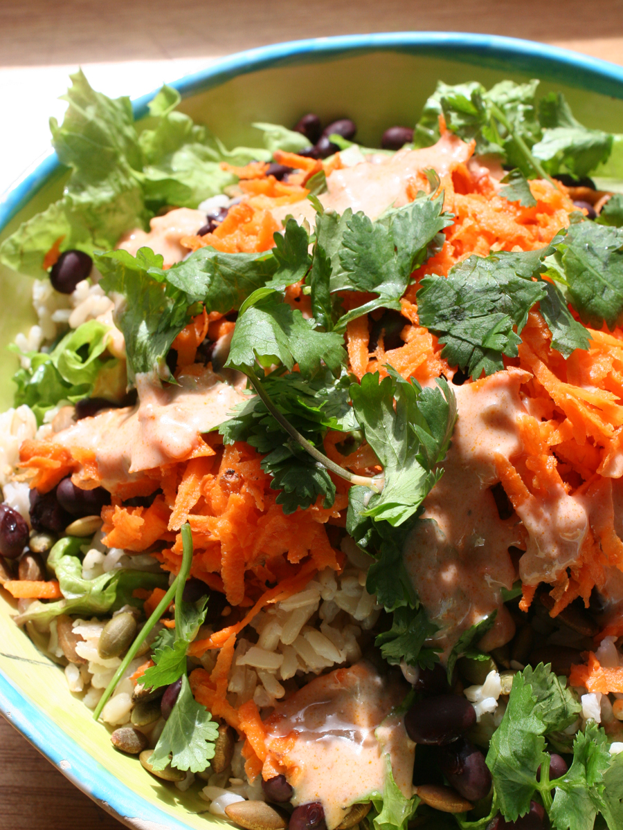 modern taco salad