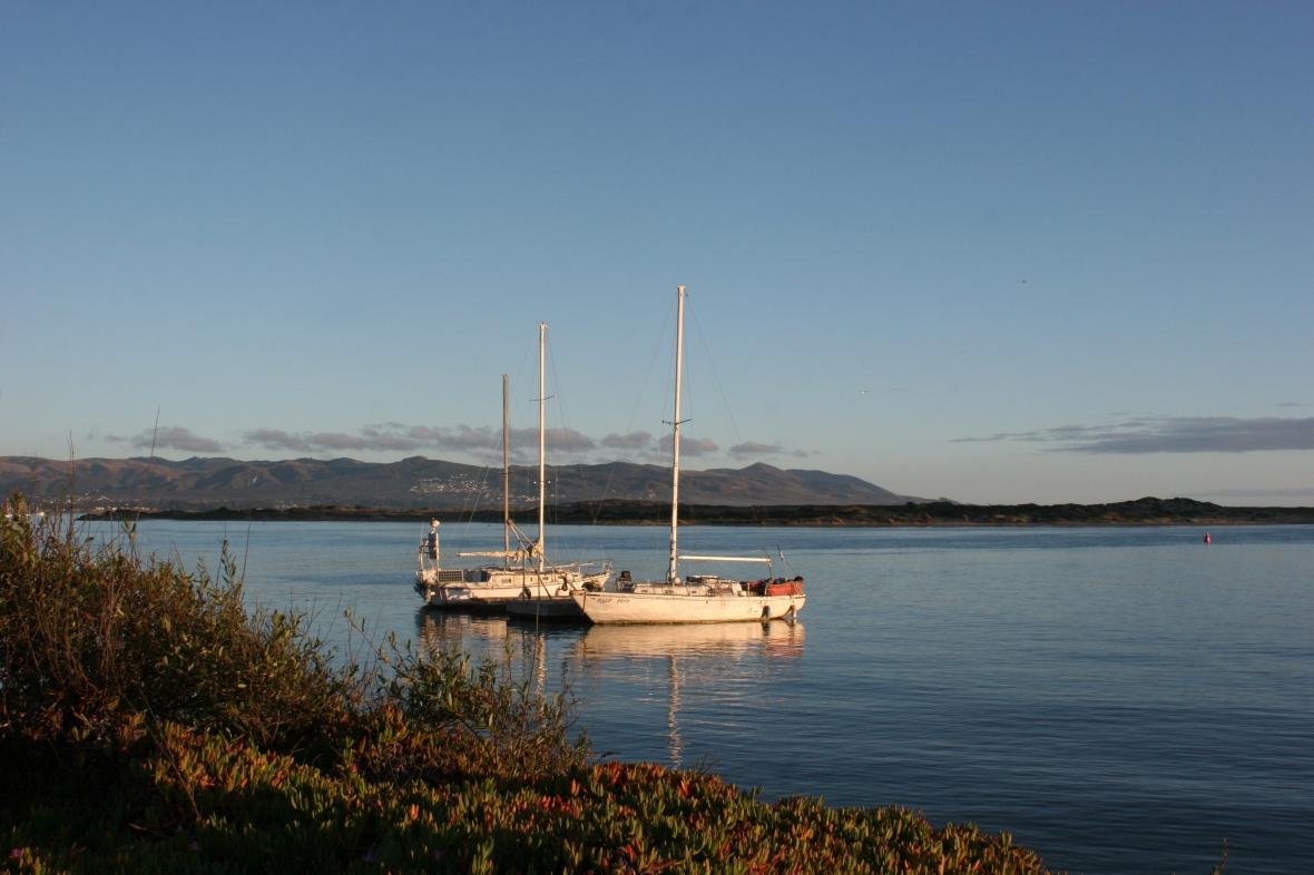 Harbor boats Morro Bay