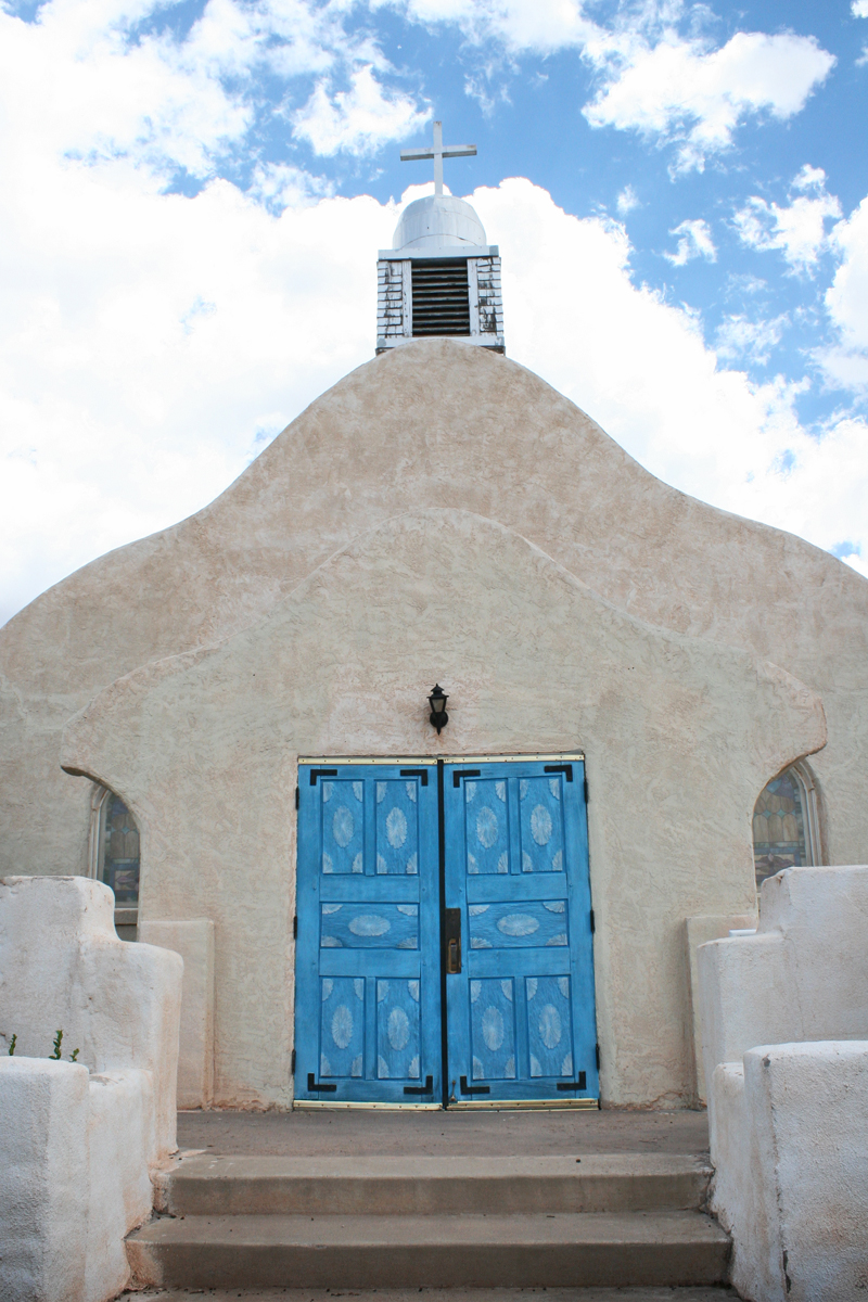 San Ysidro Catholic Church Jemez doors