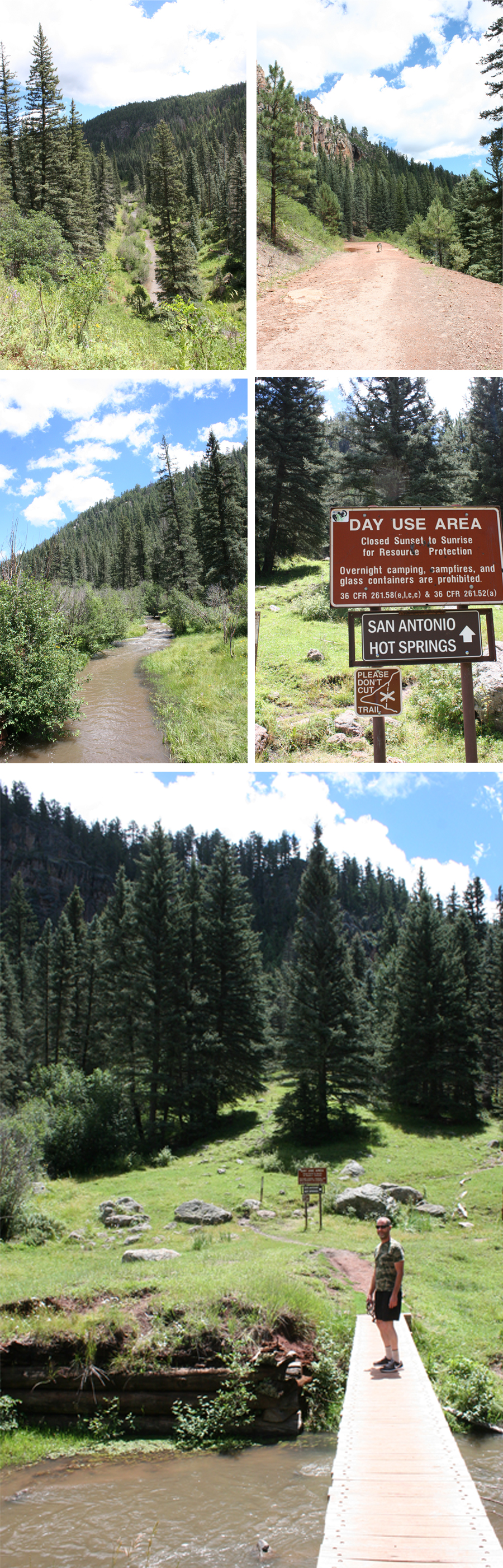 San Antonio Hot Springs Hike Jemez