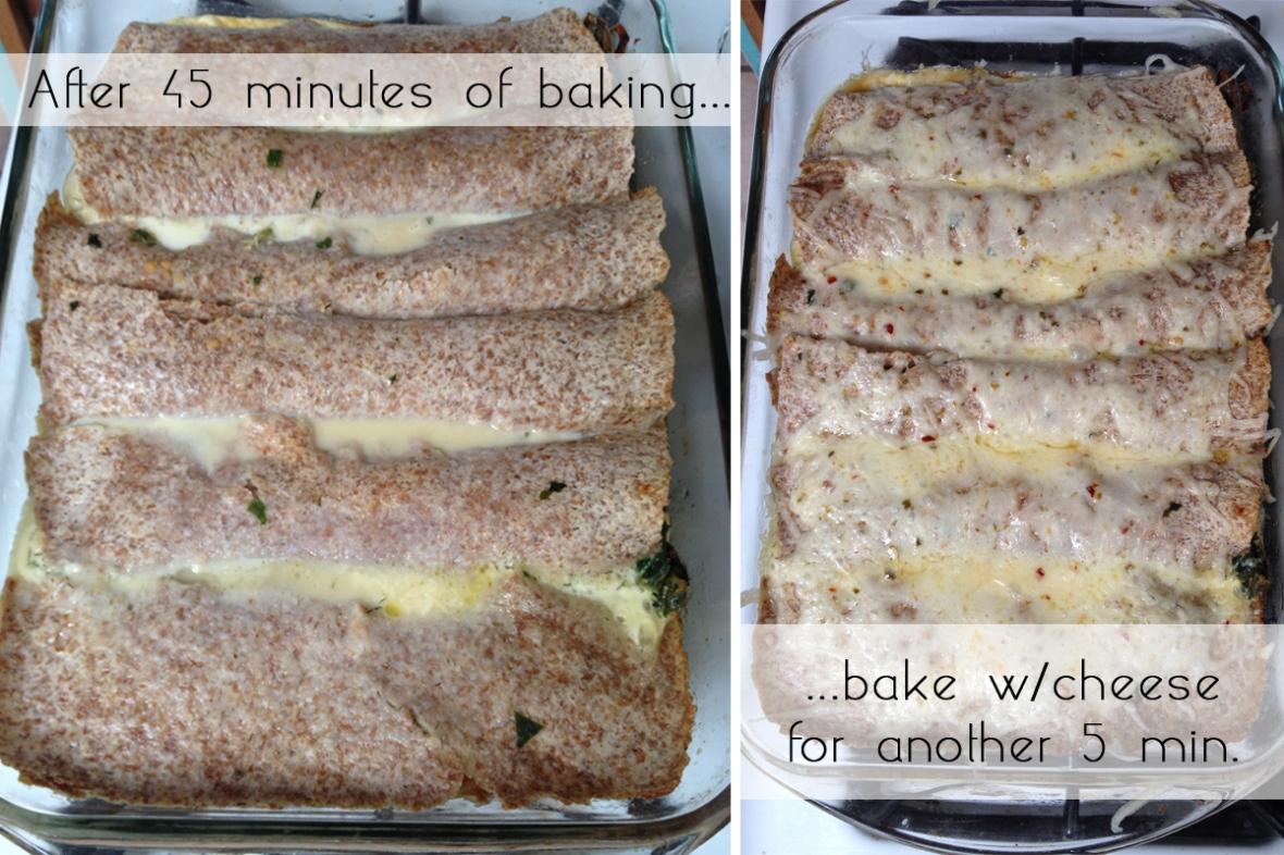 Baked Vegetarian Breakfast Burritos 2