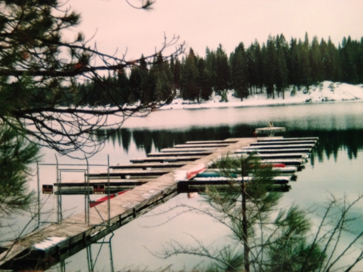 Shaver Lake in Winter