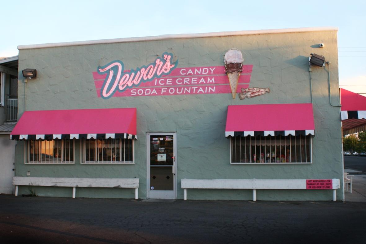 Dewars ice cream Bakersfield