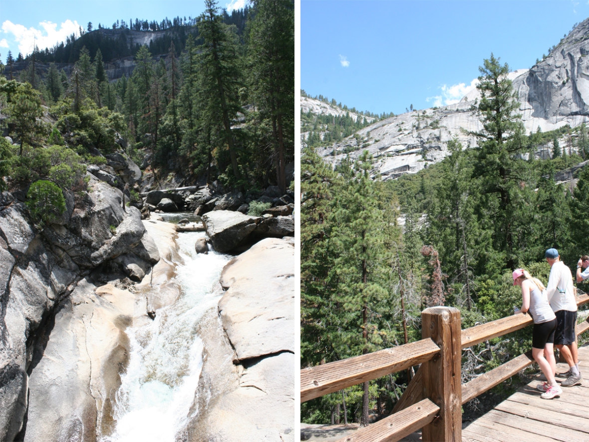 vernal falls Yosemite hike 5