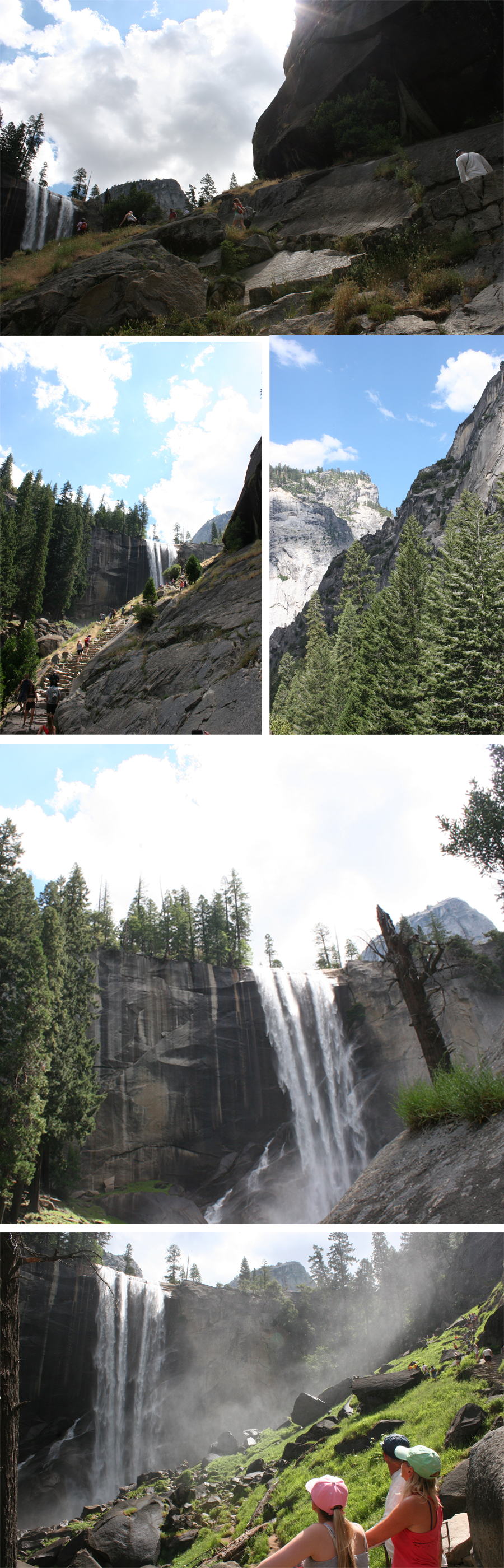 vernal falls yosemite hiking
