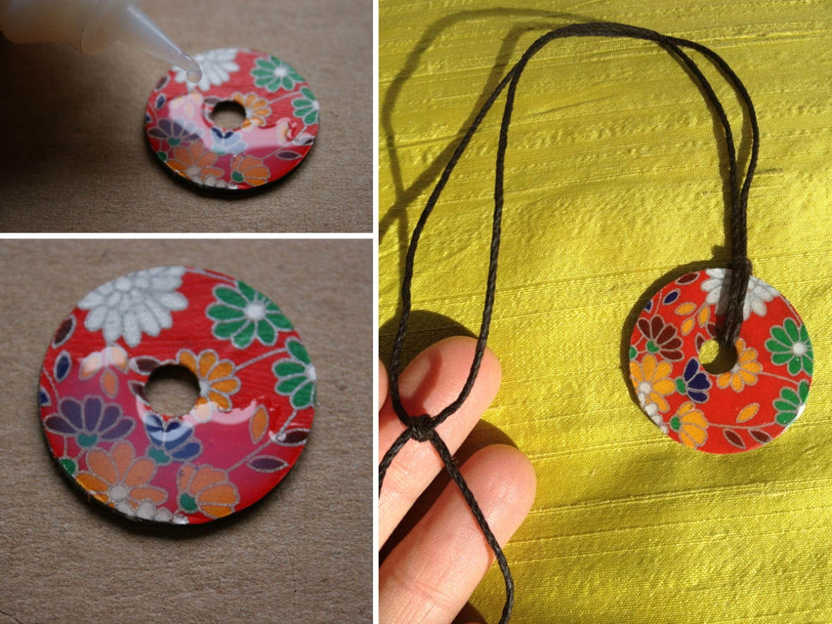 Washer Necklace DIY
