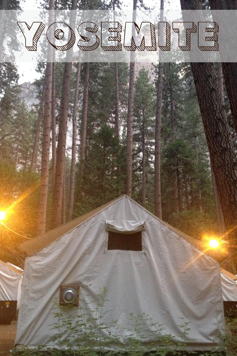 Yosemite tent