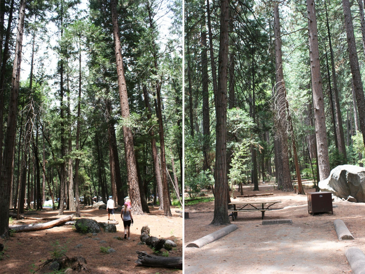 yosemite upper pines camping
