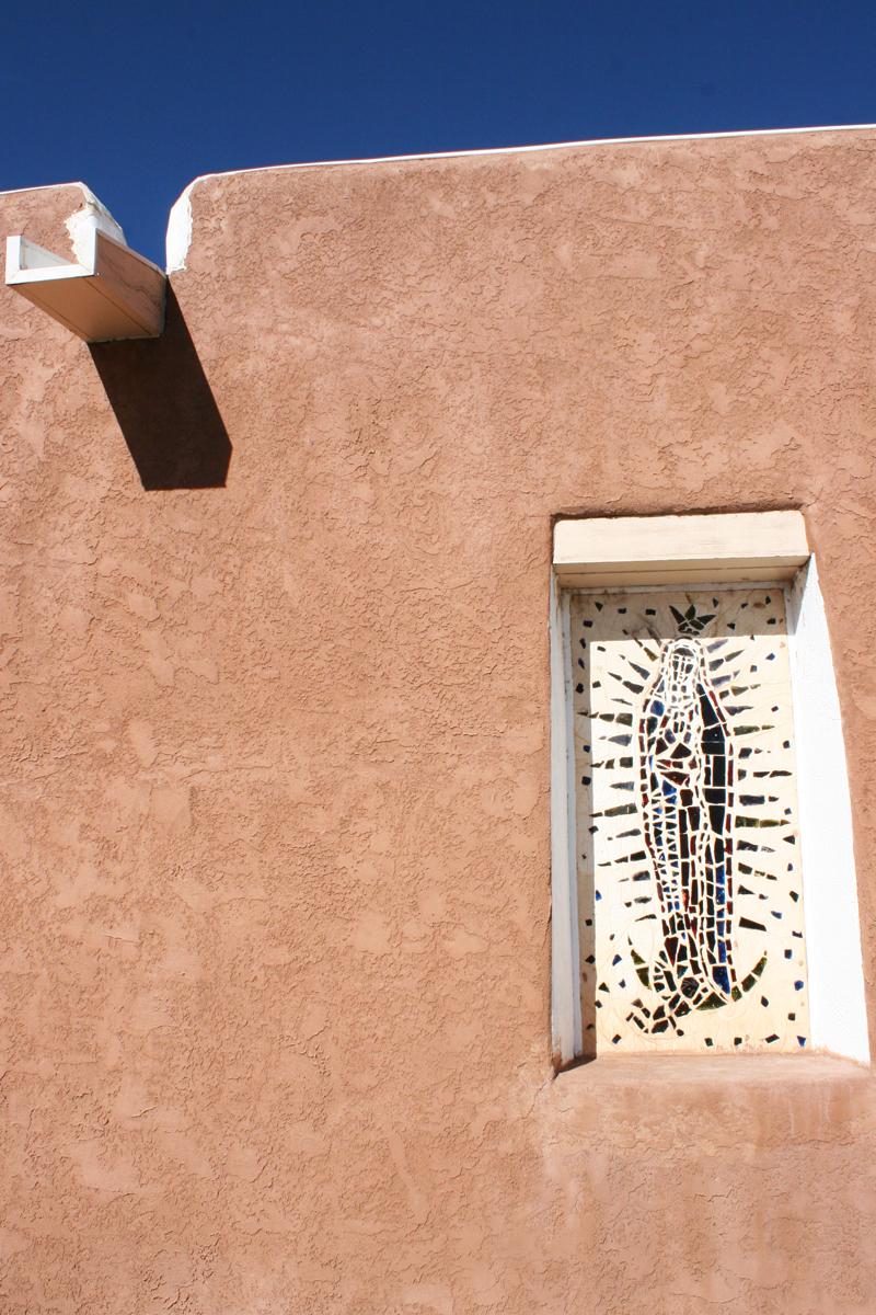 church window New Mexico Amber Howe