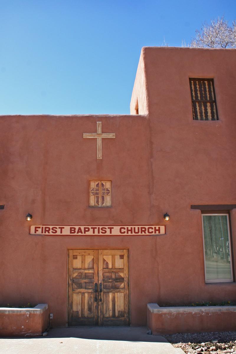 first baptist church Taos NM Amber Howe