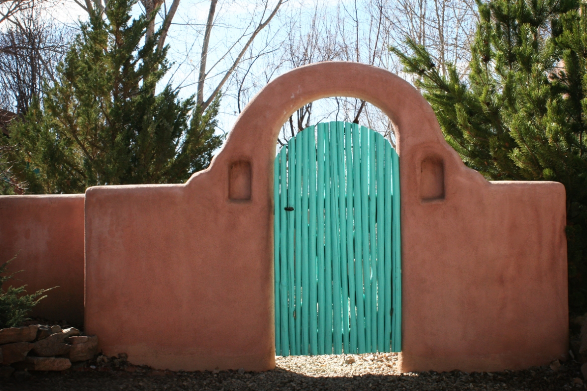 Garden Gate New Mexico Amber Howe