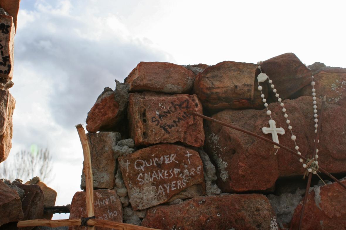 santuario de chimayo prayers