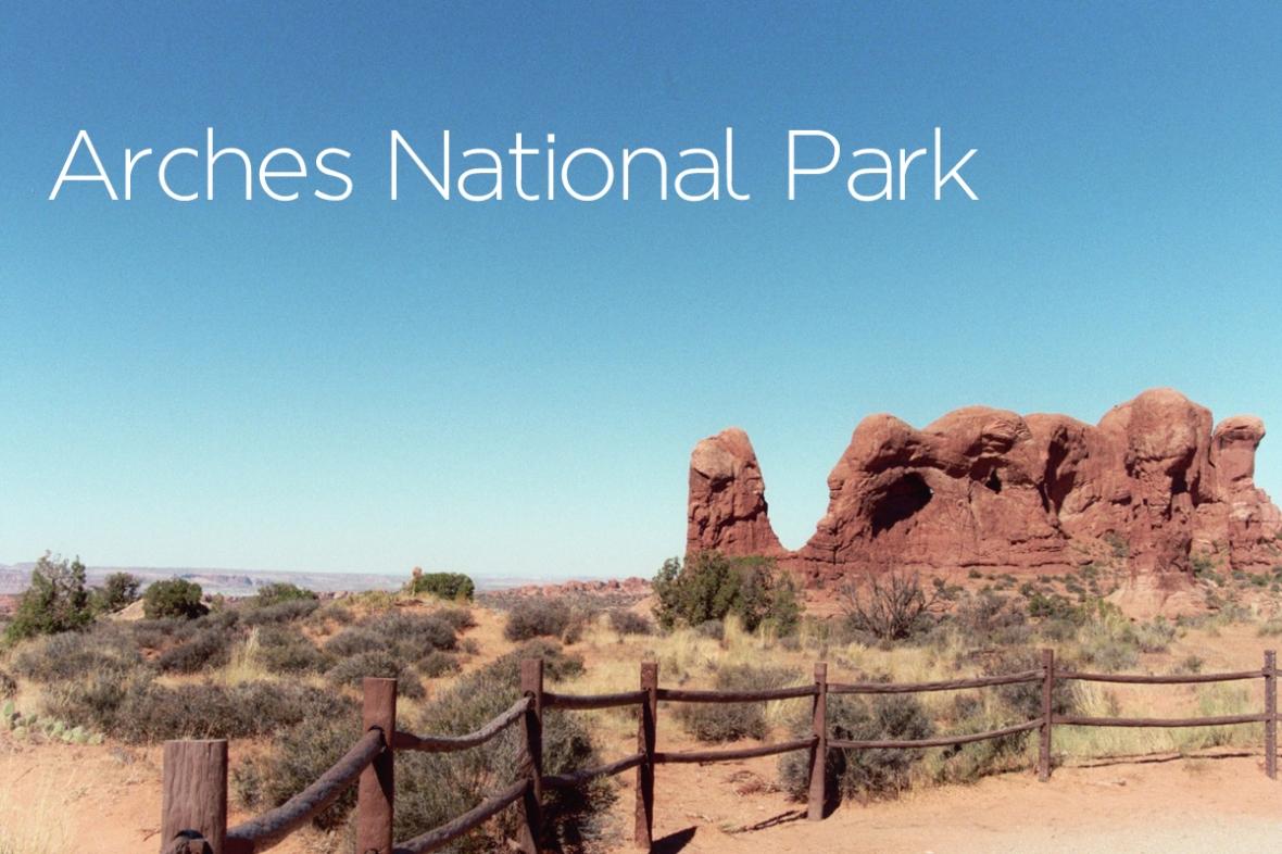 Arches National Park Title