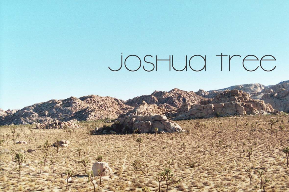 Joshua Tree National Park 2_title