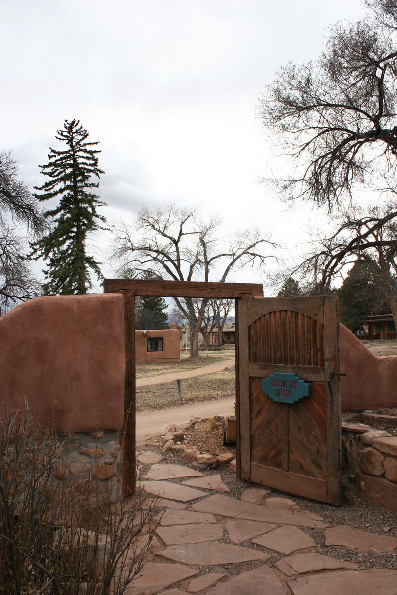 Ghost House meditation Garden