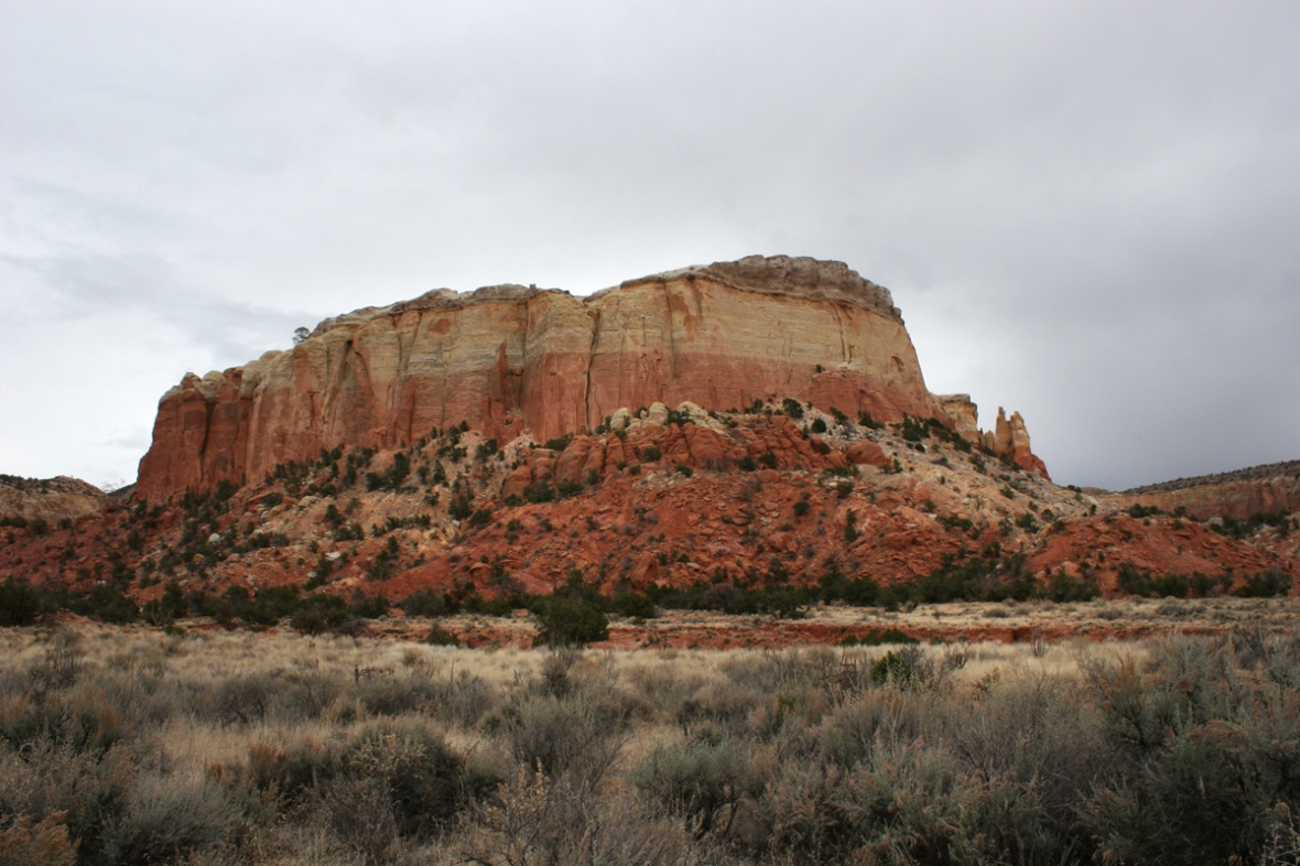 Ghost ranch hike 1
