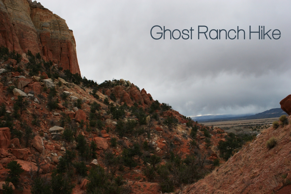 Ghost Ranch Hike_title