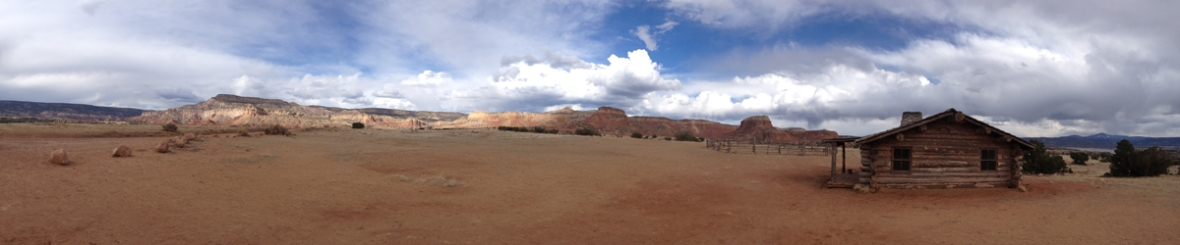 Ghost Ranch pano