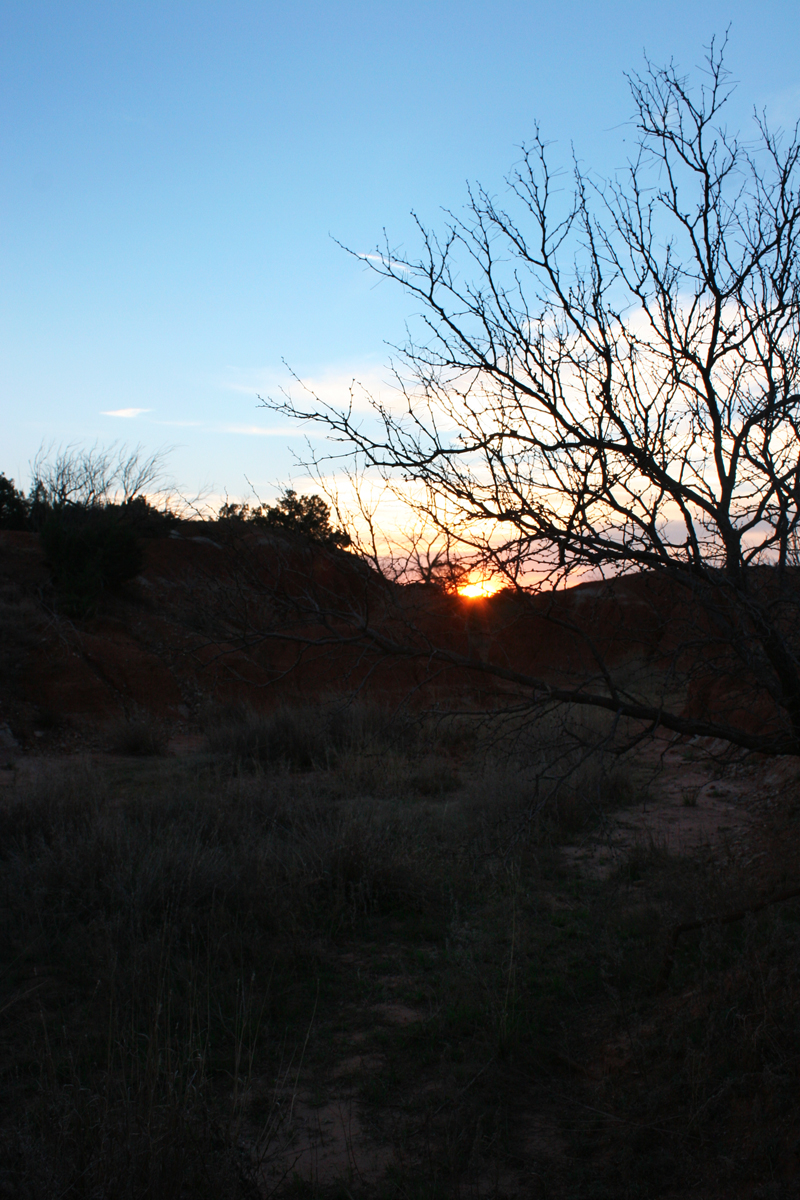 sunset first night