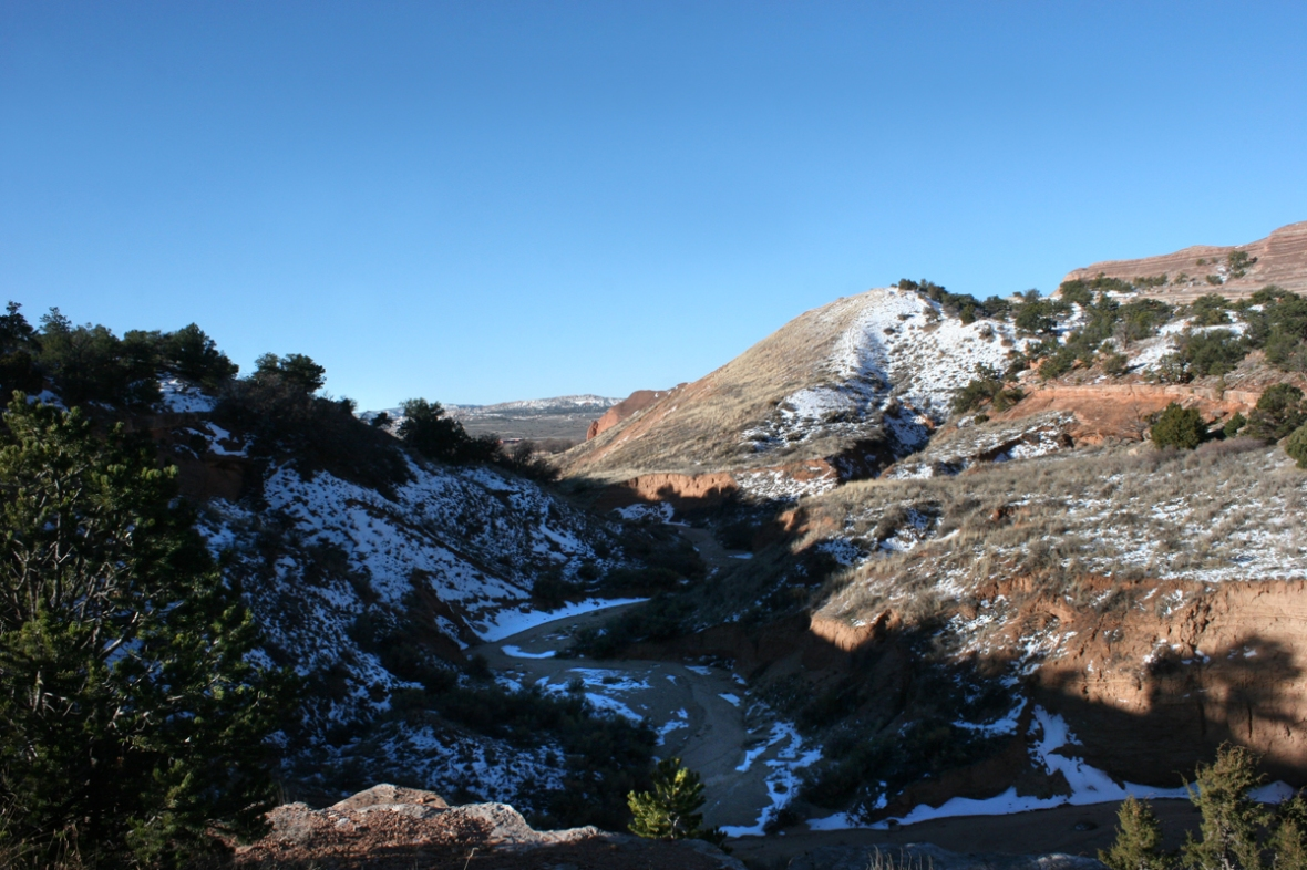 church rock trail NM ridge