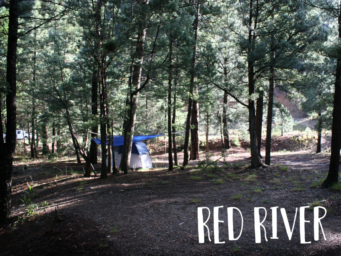 Red River Camp sites