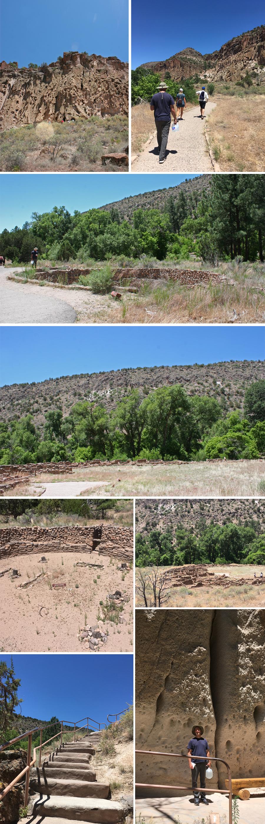 Bandelier hike 1